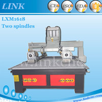 LINK Brand 1618 Top selling cnc router for plexiglass sheets 1618 wood cnc with vacuum table