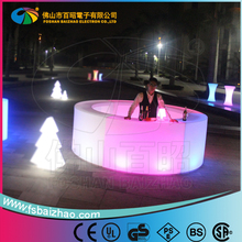 factory directly sale LED light bar table / LED bar table furniture