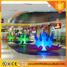 inflatable zygote balloon/ inflatable interactive ball with led light for party