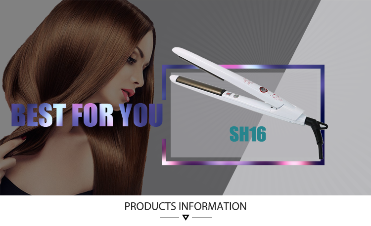 High Quality Professional White Simply Salon/House Hair Straightener