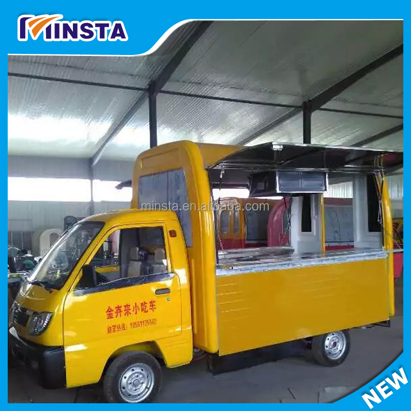 Mobile Fast Food Application Food Truck Trailer/ Towing Type Mobile Catering Food Van