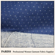 PARISS yarn dyed 100 cotton double gauze fabric