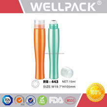 Refillable roll on bottle for Cosmetic Packaging