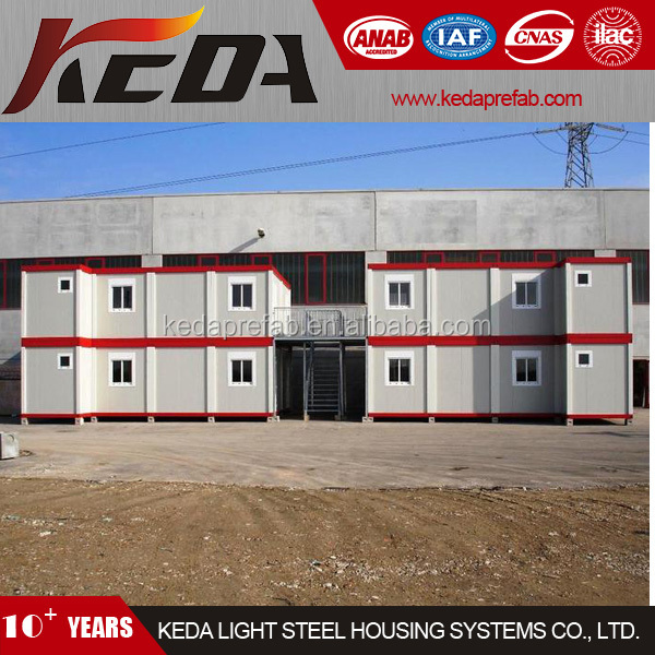 prefabricated container apartment building