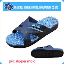 Cheapest foot caring pvc sole slipper mold