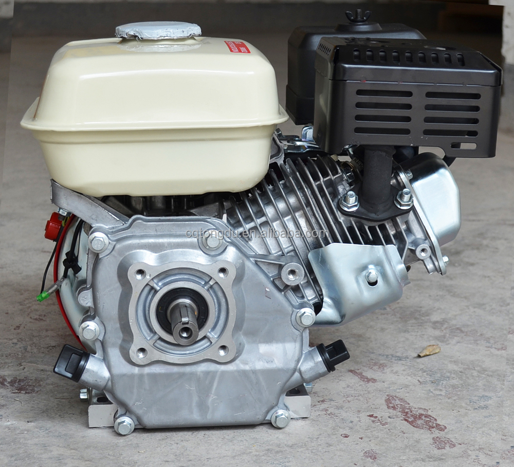Small 4 stroke engine 1 cylinder inboard ohv engine 13hp for Honda gx390 oil capacity