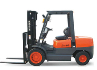 4.0T hand operated forklifts articulated forklift