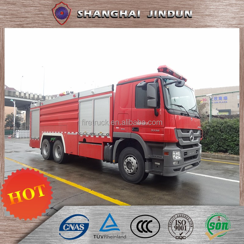 Low Price 8000Liters Antique Fire Trucks For Sale