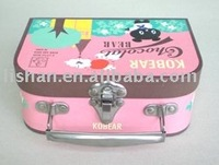 new design children mini paper suitcase