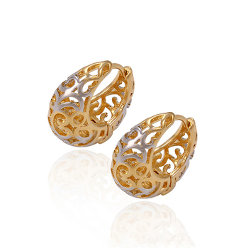 Most popular classical design 4gram hoop earring imported frrom China
