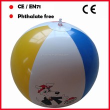 advertising 16inch inflatable beach ball with custom logo PVC beach ball inflatable water balls free sample cheap price