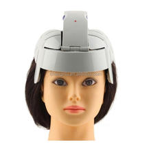 Brain Head Massager Helmet Head Massageador Scalp relaxation shaking vibration Acupuncture Electrical Nerve Stimulator