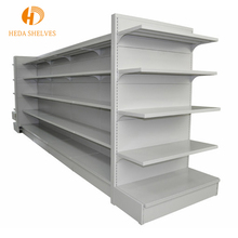 Customized logo 4-6 layers supermarket shelf fancy retail convenience store display racks
