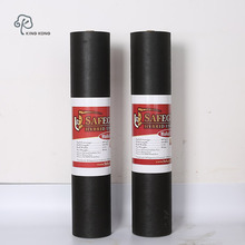 Self Adhesive Waterproof Membrane black breathable Roofing Felts