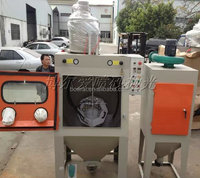 Half-Automatic Sandblasting Machine / Dry Pressed Type Sandblasting Machine - cheap