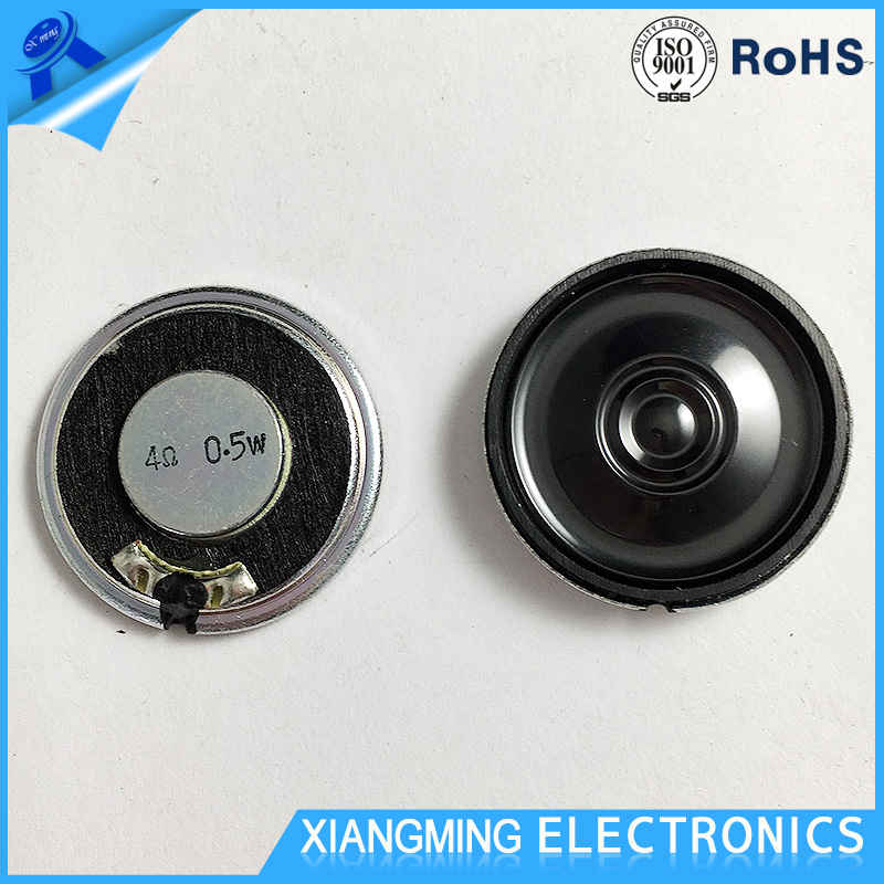 Good Performance Powered Good Stability 4 Ohm Small Thin 28MM Mylar Speaker