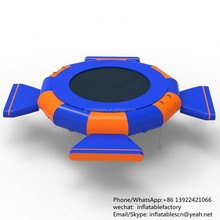 PK Inflatable Water Jumping Toys Kids & Adults Commercial Trampoline For Water Park