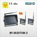 Wireless auto reversing camera system, 7 inch digital wireless monitor system with 2 cameras BY-08207SW-2