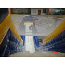 SUNWAY Hippo Inflatable Water Slide Giant Slider, Biggest Commercial Grade Inflatable Water Slide