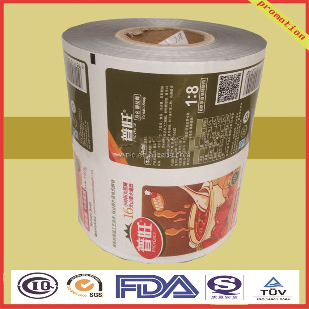 high speed rotogravure printing film packaging