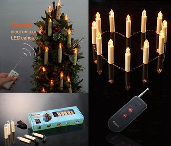Remote Control Candle--12 candle socket