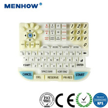 High quality custom silicone rubber Keyboard Cover small computer keypad keyboard