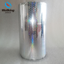 Holographic Color Plastic Packaging Film for Product Packaging