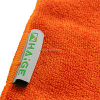 customize logo bath towels made in china