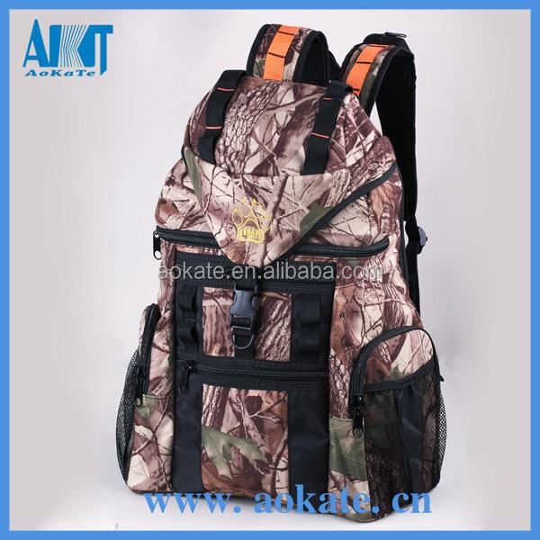 camouflage tactical backpack and hunting bag