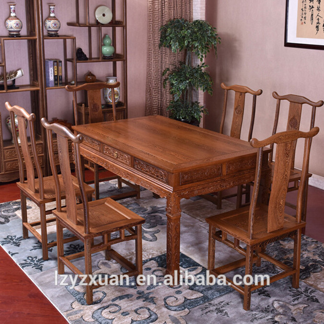 Best price of dinning table set glass made in China