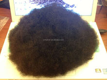 Silk base top full lace toupee base 6 1/4 by 9 inches,human hair wigs for black men short curly afro wigs