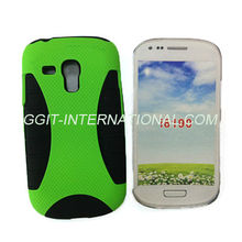 Double Layer Mix Hybrid Protector Case For Samsung S3 Mini Hard Soft Cover Accessory