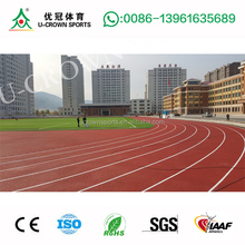 running track paint with IAAF 400M Standard Waterproof spray coating system