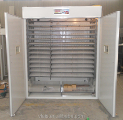 Popular large automatic chicken egg incubator 9856 eggs hatching machine