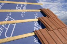 synthetic roofing felt manufacturer ASTM standard waterproof membrane use under shingles,tile,metal or slate