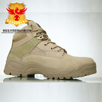 15cm Height Coyote Tan color Military desert Boots low-cut hiking tictical boots safety shoes