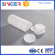 wholesale round printing cosmetic nonwoven cotton facial pads with brand names