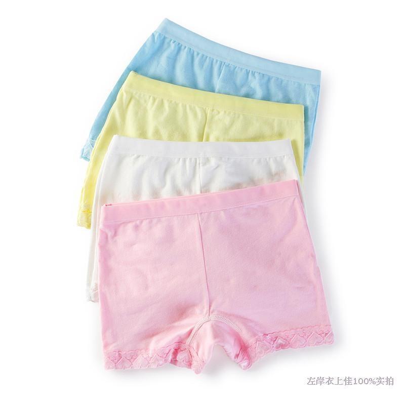 Full back white cotton panties on teen-26795