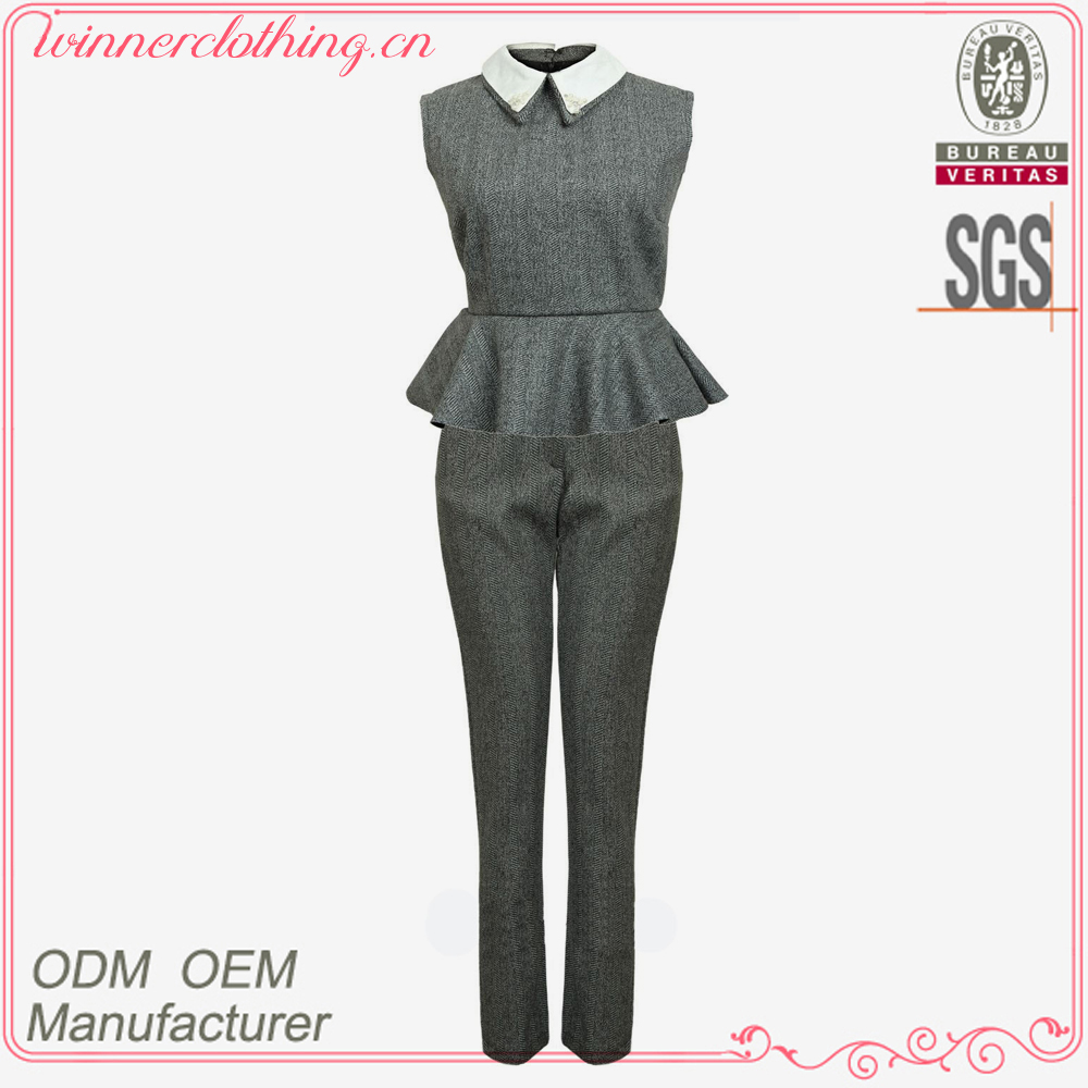 New Design Fancy Princess Style Evening Party Pant Suits for Girls