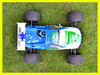 Vrx Racing 1/8 scale RH801P upgrade rc nitro truggy,blue,1/8scale