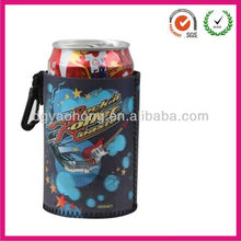 Perfect neoprene can pocket cooler with drawstring (factory)