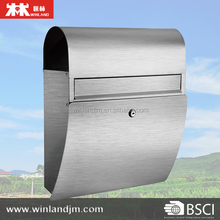 Wall Mounted Stainless Steel Mailbox Mail box Letter box post box
