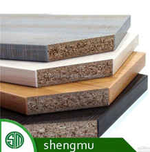 best selling top quality melamine laminated particle board/cheap chipboard