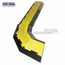 Humps Yellow Jacket High Voltage Protection De Channel Rubber Ramp Floor Cover Plastic Ramps Protector Cable Guard