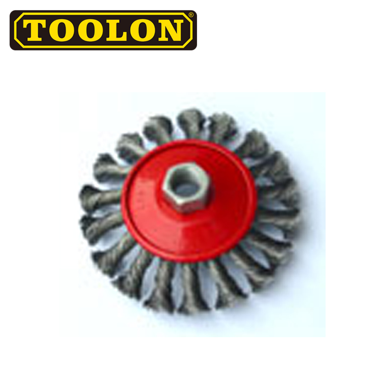 Excellent Material Steel Wire Twisted Knot Bevel Brushes