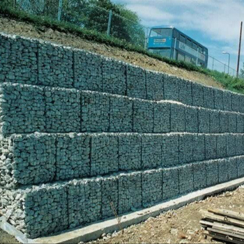 Stone Cage Gabion Fence for Bank of River