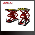 Hydraulic car lift scissor type with CE certification