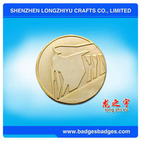Great Wall Of China Tourism Souvenir Coin