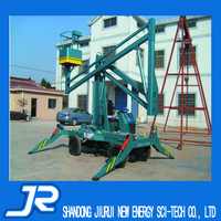 High quality hydraulic portable outdoor one man lifts for sale