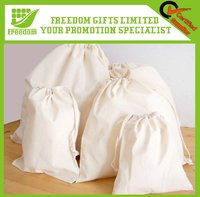 Hot-selling cotton drawstring bags